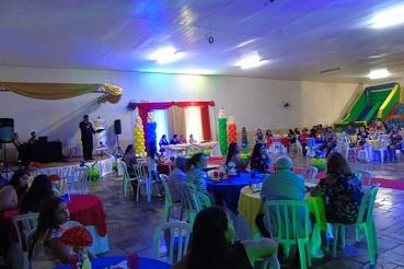 Jardim III realiza festa de formatura e se despede da Educação Infantil
